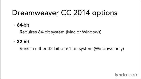 Breaking the 32-bit barrier: Dreamweaver: 2014 Creative Cloud Updates