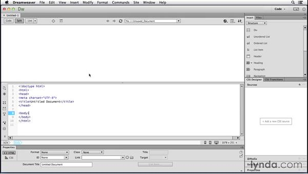 Investigating a streamlined UI: Dreamweaver: 2014 Creative Cloud Updates