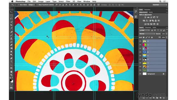 Creating a promo piece with guide layouts (CC 2014.1): Photoshop for Photographers: 2014 Creative Cloud Updates