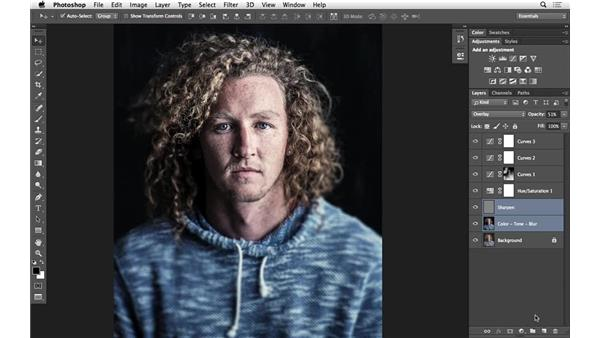 Easier grouping of layers (CC 2014.1): Photoshop for Photographers: 2014 Creative Cloud Updates