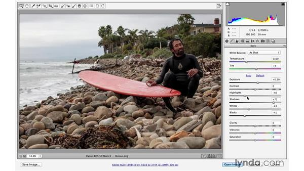 Interactive histogram (CC 2014.1): Photoshop for Photographers: 2014 Creative Cloud Updates