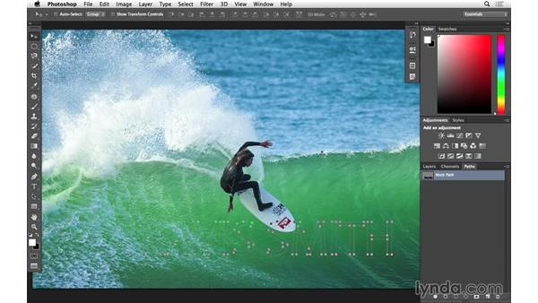 Lighting text on fire (CC 2014.1): Photoshop for Photographers: 2014 Creative Cloud Updates