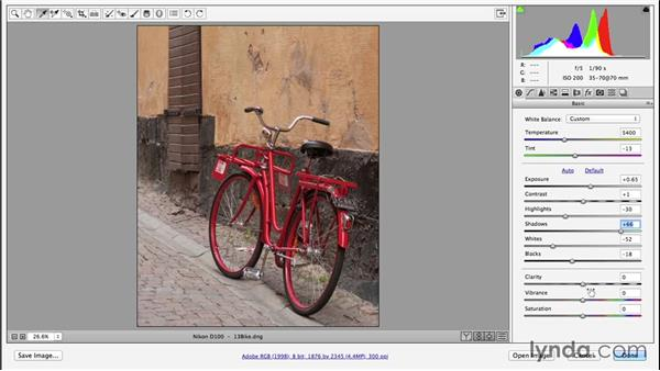 Making an average photo great (CC 2014.1): Photoshop CC Essential Training (2013)