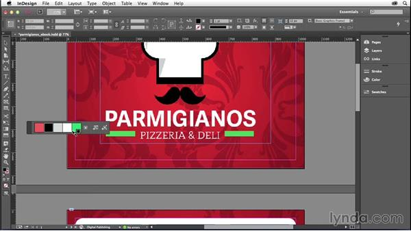 Using the Color Theme tool: InDesign: 2014 Creative Cloud Updates