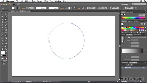 Using the Curvature tool: Illustrator: 2014 Creative Cloud Updates