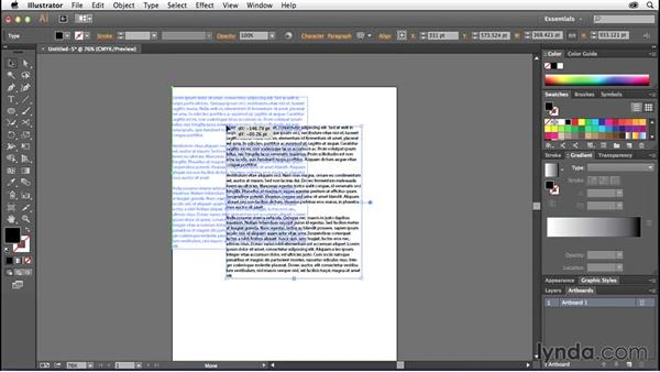 Exploring text autosizing: Illustrator: 2014 Creative Cloud Updates