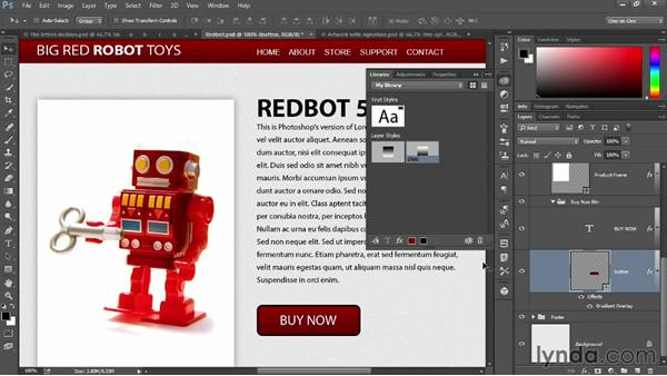 Introducing the new design libraries: Photoshop: 2014 Creative Cloud Updates