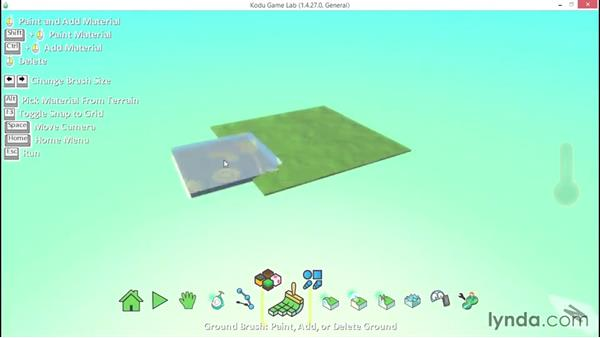 Welcome: Learning Visual Programming with Kodu