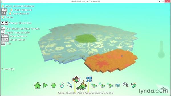 Understanding brushes: Learning Visual Programming with Kodu