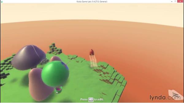 Working with glass walls: Learning Visual Programming with Kodu