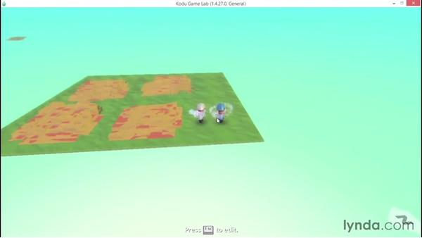 Controlling basic sounds and effects: Learning Visual Programming with Kodu
