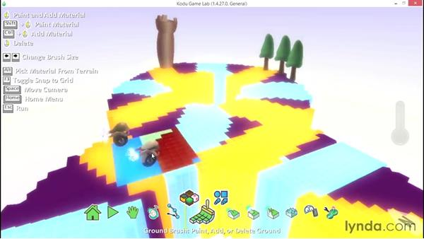 Solution: Create a simple game: Learning Visual Programming with Kodu