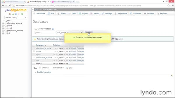 Installing Joomla! 3.3 with WAMP: Installing and Running Joomla! 3: Local and Web-Hosted Sites