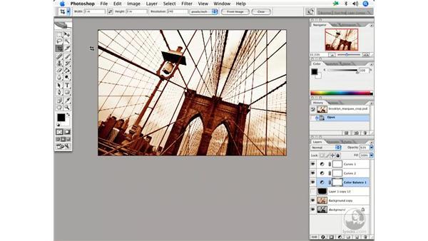 Image size 2 - crop: Enhancing Digital Photography with Photoshop CS2