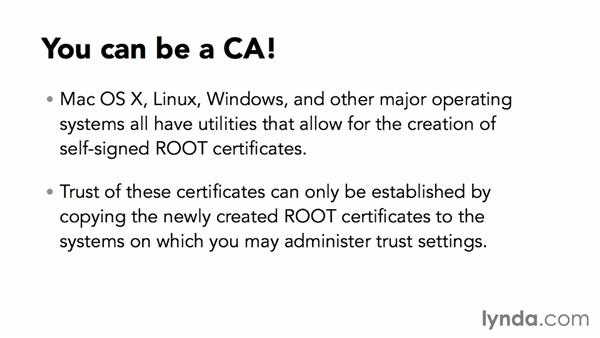 How do self-signed certificates work?: Understanding Secure Sockets Layer