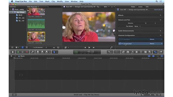 Syncing video to high-quality audio in Final Cut Pro X: Video Post Tips Weekly
