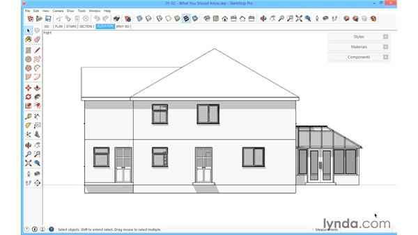 What you should know before watching this course: SketchUp for Architecture: Fundamentals