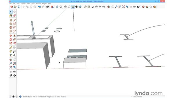 Think like SketchUp: SketchUp for Architecture: Fundamentals