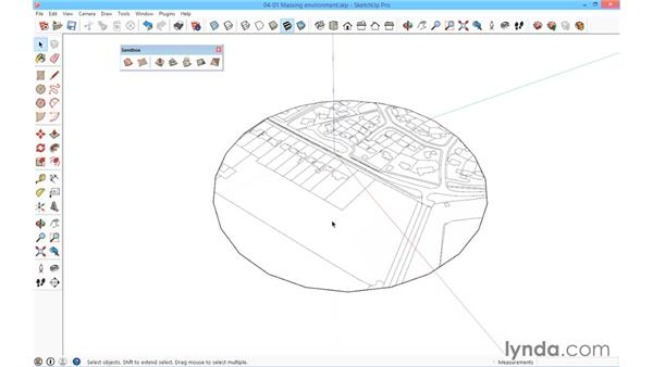 The massing environment: SketchUp for Architecture: Fundamentals