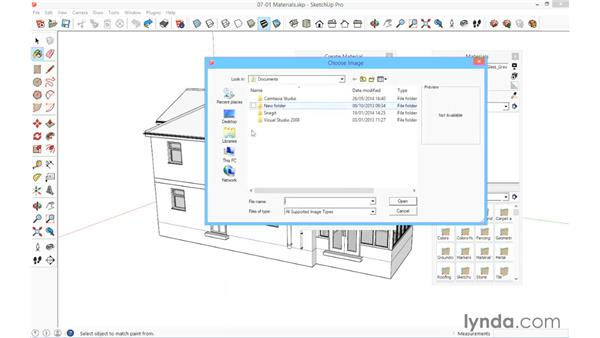The Material Editor: SketchUp for Architecture: Fundamentals