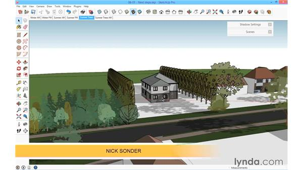 Next steps: SketchUp for Architecture: Fundamentals