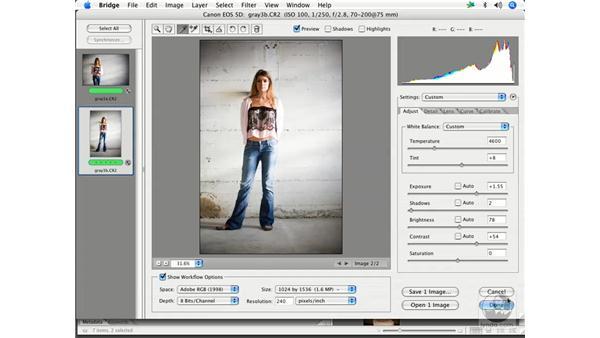 Camera RAW workflow 2: Enhancing Digital Photography with Photoshop CS2
