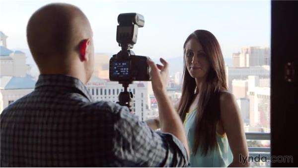 Setting up a low-light portrait: Photography 101: Shooting in Low Light