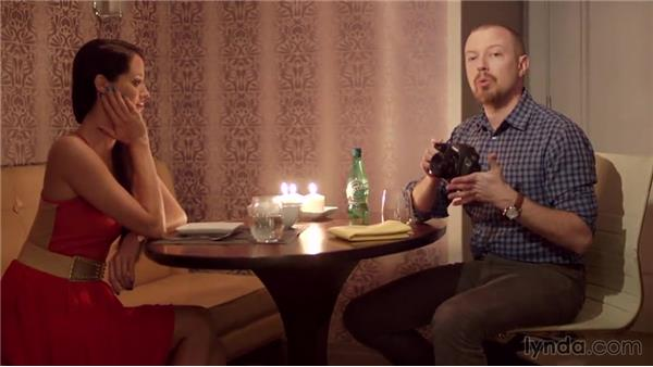 Taking a candlelit portrait: Photography 101: Shooting in Low Light