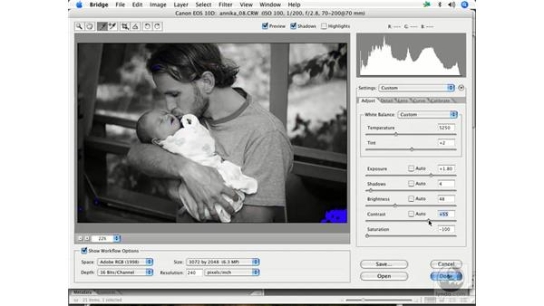 Black and white 1: Enhancing Digital Photography with Photoshop CS2