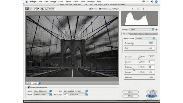 Black and white 2: Enhancing Digital Photography with Photoshop CS2