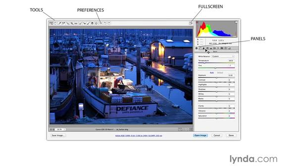 The Camera Raw interface (CC 2014.1): Photoshop CC for Photographers: Fundamentals