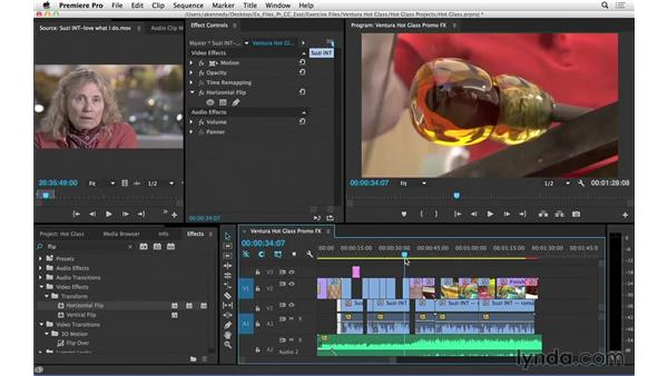 What's new in Premiere Pro CC 2014.1: Effects changes: Premiere Pro CC Essential Training (2014)