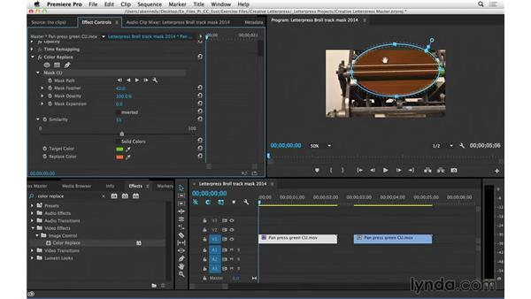 Masking and tracking effects (CC 2014.1): Premiere Pro CC Essential Training (2014)