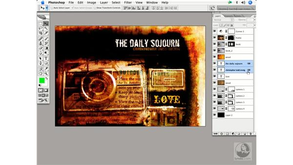 Linking and groups: Enhancing Digital Photography with Photoshop CS2