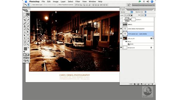 Layer style effects: Enhancing Digital Photography with Photoshop CS2