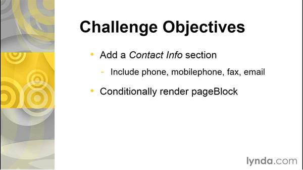 Challenge: Enhance the contact edit page: Developing with Visualforce