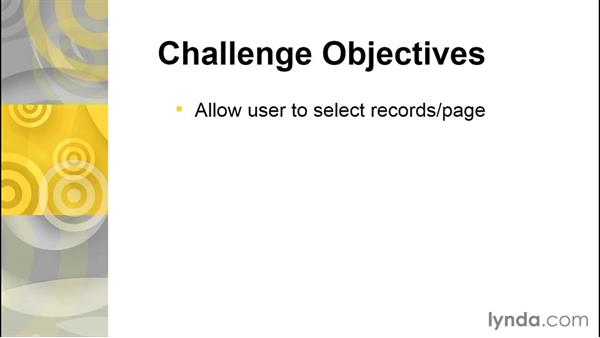 Challenge: Add paging info to the edit opportunities page: Developing with Visualforce