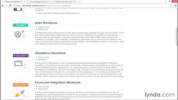 Next steps towards advanced Visualforce: Developing with Visualforce