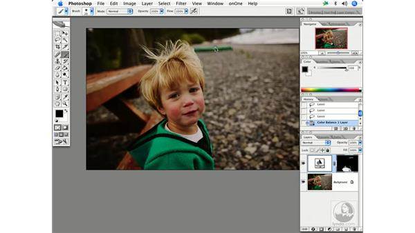 Modifying color/tone: Enhancing Digital Photography with Photoshop CS2