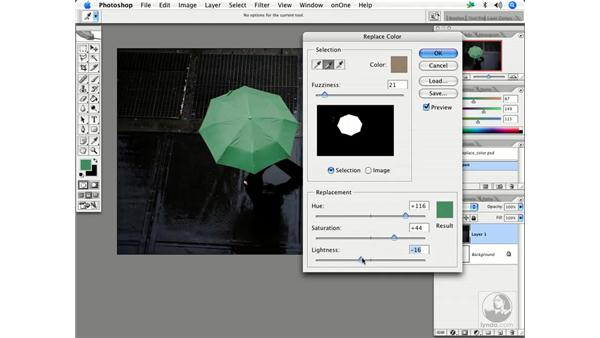 Replacing color: Enhancing Digital Photography with Photoshop CS2