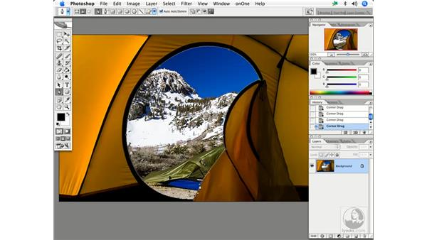 Creating and using paths: Enhancing Digital Photography with Photoshop CS2