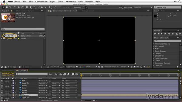 Reorganizing layer groups and masks: After Effects Guru: Working with Photoshop Files