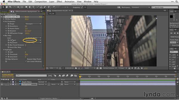 Animating with depth mattes: After Effects Guru: Working with Photoshop Files