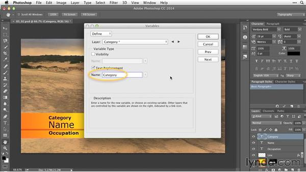 Creating data sets: After Effects Guru: Working with Photoshop Files