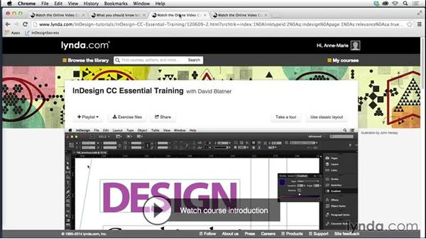 What you should know before watching this course: Creating Fixed-Layout EPUBs with InDesign CC