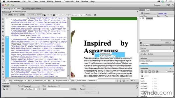 Understanding how InDesign converts live text: Creating Fixed-Layout EPUBs with InDesign CC