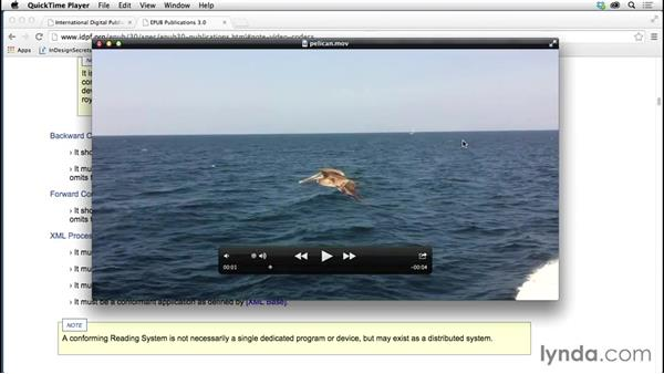 Converting rich media files with Adobe Media Encoder: Creating Fixed-Layout EPUBs with InDesign CC