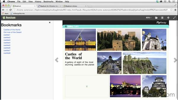 Previewing on the desktop with the Readium browser extension: Creating Fixed-Layout EPUBs with InDesign CC