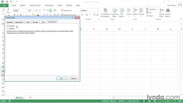 Locking Excel worksheet cells and hiding formulas: Securing Microsoft Office Files