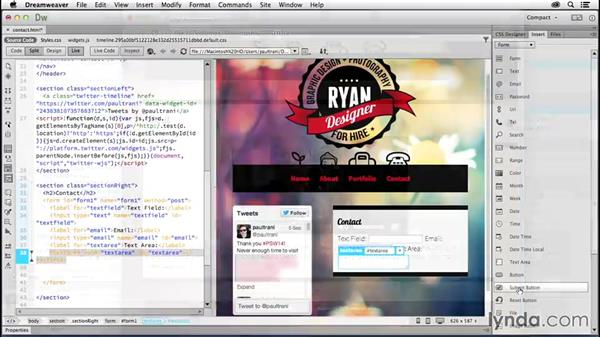 Welcome: Creating a First Website in Dreamweaver CC 2014